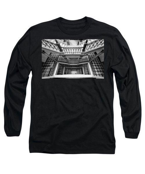 Sao Paulo - Gorgeous Staircases Long Sleeve T-Shirt