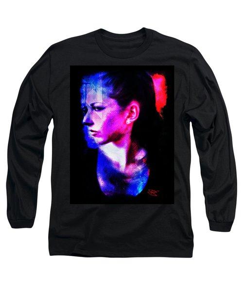 Sarah 2 Long Sleeve T-Shirt by Mark Baranowski