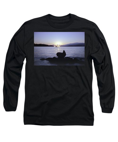 Sausalito Morning Long Sleeve T-Shirt