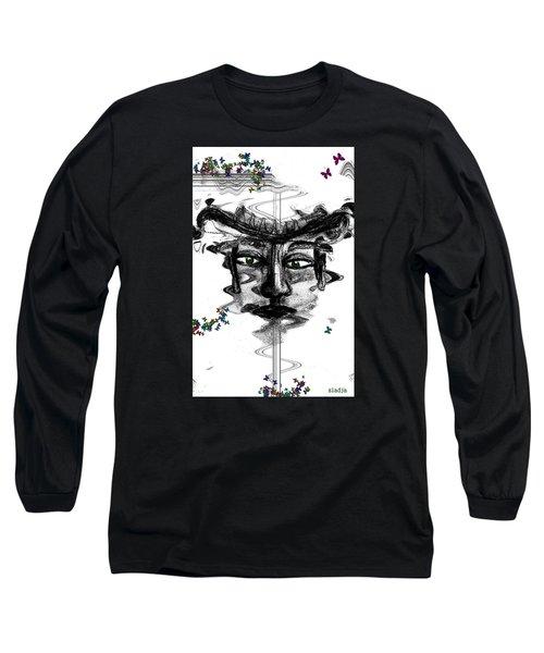 Save Me  Long Sleeve T-Shirt by Sladjana Lazarevic