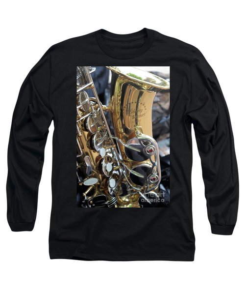 Sax In The City Long Sleeve T-Shirt