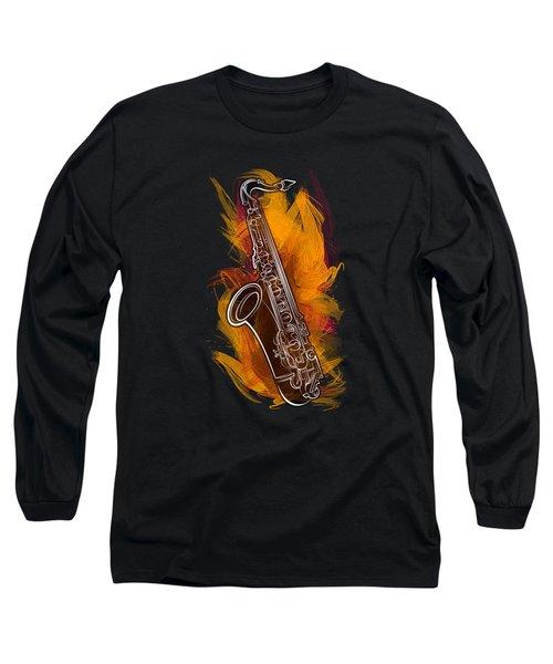 Sax Craze Long Sleeve T-Shirt