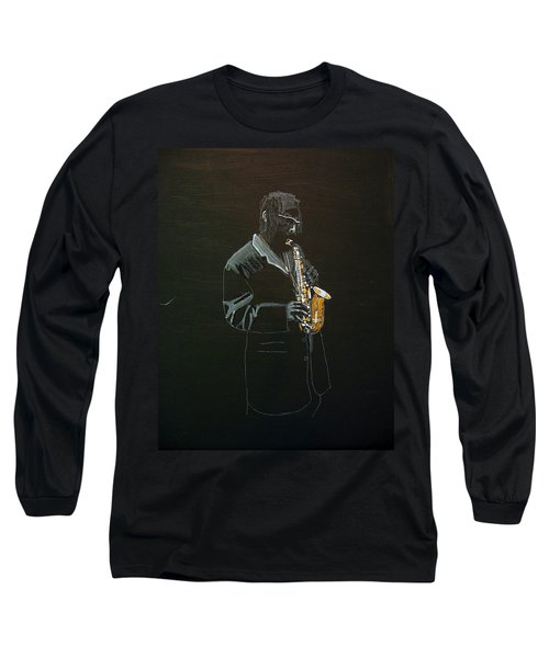 Sax Player Long Sleeve T-Shirt