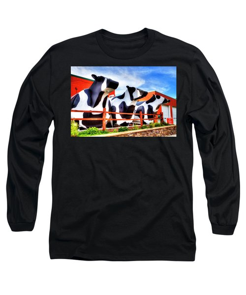 Say Cheese Long Sleeve T-Shirt by Dale R Carlson