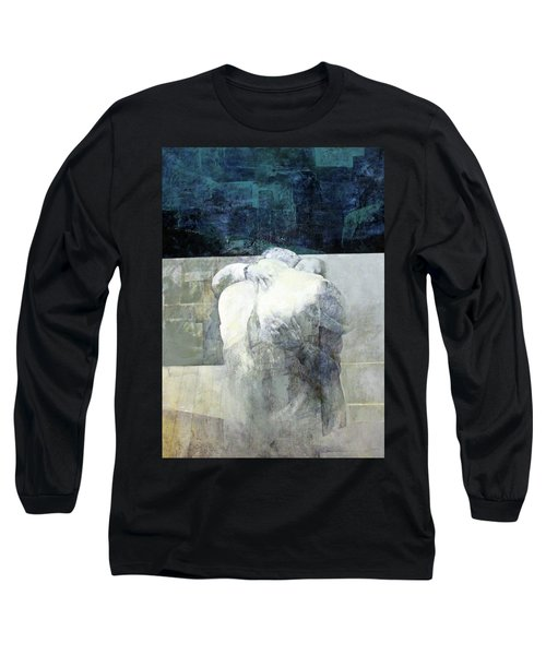 Saying Goodbye Long Sleeve T-Shirt by Munir Alawi