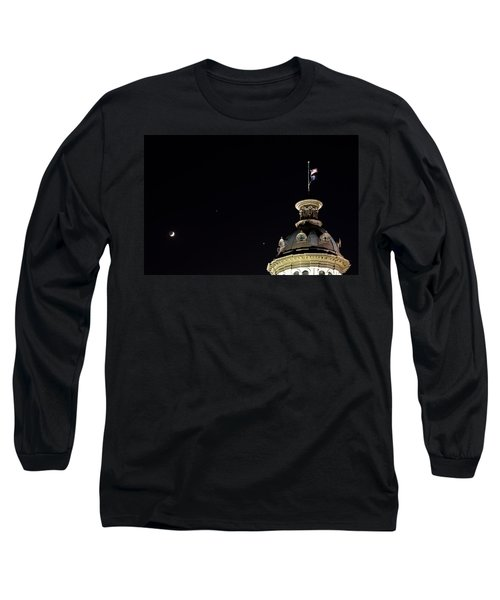 Sc State House Dome And Conjunction Long Sleeve T-Shirt by Charles Hite