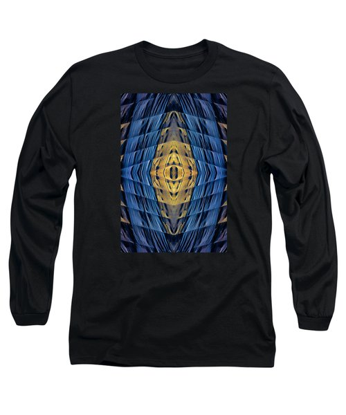 Scaffolding And Tarp 7676 N70v2 Long Sleeve T-Shirt by Raymond Kunst