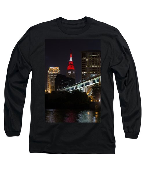 Scarlet And Gray Long Sleeve T-Shirt