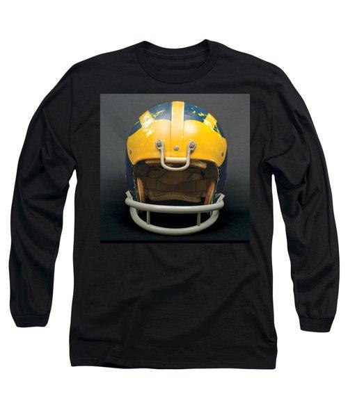 Scarred 1970s Wolverine Helmet Long Sleeve T-Shirt