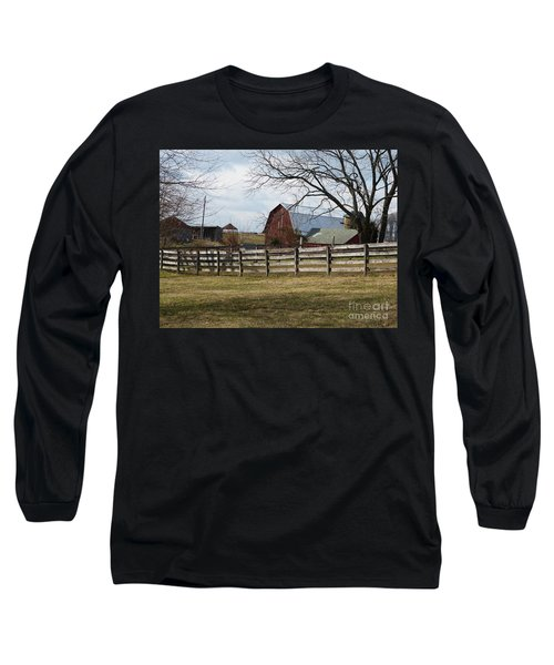 Scene On The Farm Long Sleeve T-Shirt
