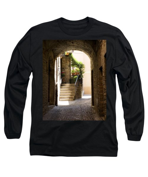 Scenic Archway Long Sleeve T-Shirt by Marilyn Hunt