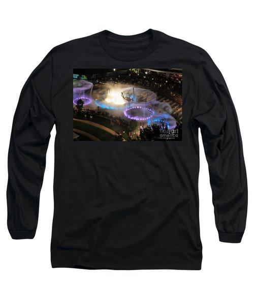Scioto Mile Riverfront Park Long Sleeve T-Shirt