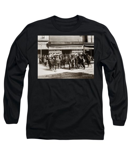 Scranton Pa Metropolitan 5 To 50 Cent Store Early 1900s Long Sleeve T-Shirt