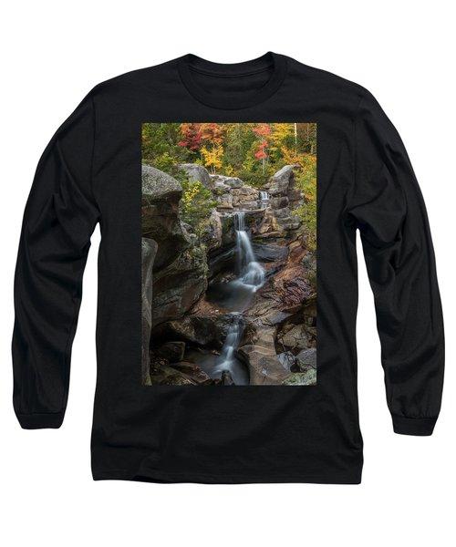 Screw Auger Falls In Autumn Long Sleeve T-Shirt