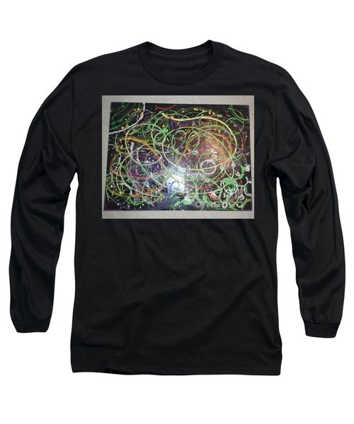 Scribble Long Sleeve T-Shirt by Talisa Hartley