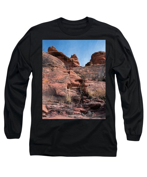 Sculpted Sandstone Long Sleeve T-Shirt