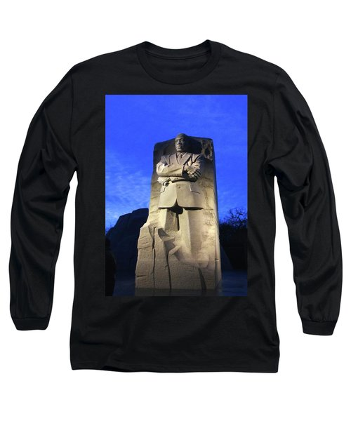 Sculptured Profile Martin Luther King Jr. Long Sleeve T-Shirt