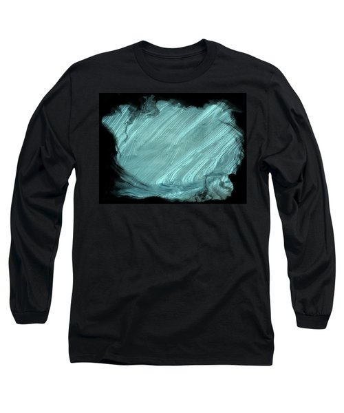 Sea Blue Long Sleeve T-Shirt by Athala Carole Bruckner