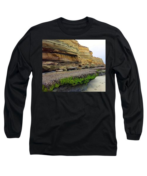 Sea Cliff Long Sleeve T-Shirt by Betty Buller Whitehead