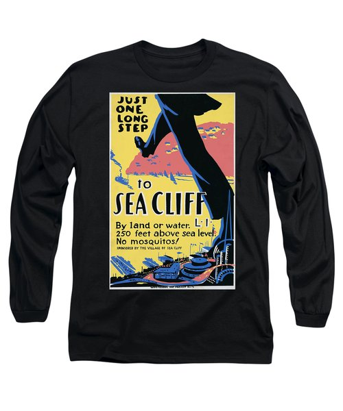 Sea Cliff Long Island Poster 1939 Long Sleeve T-Shirt