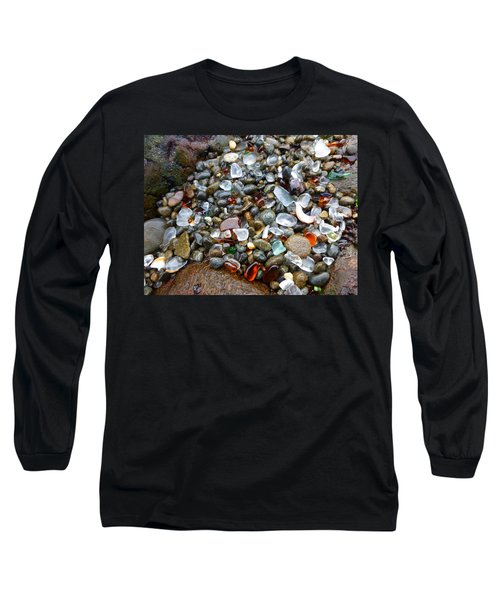 Sea Glass Gems Long Sleeve T-Shirt