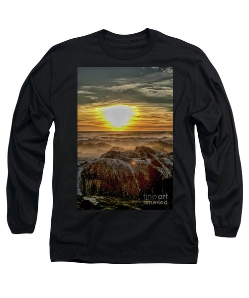 Sea Mist Sunset Long Sleeve T-Shirt