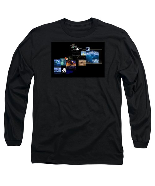 Seas Of Dreams  Long Sleeve T-Shirt by Peter Hedding