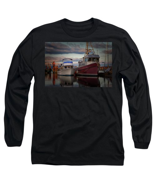 Long Sleeve T-Shirt featuring the photograph Sea Rake by Randy Hall