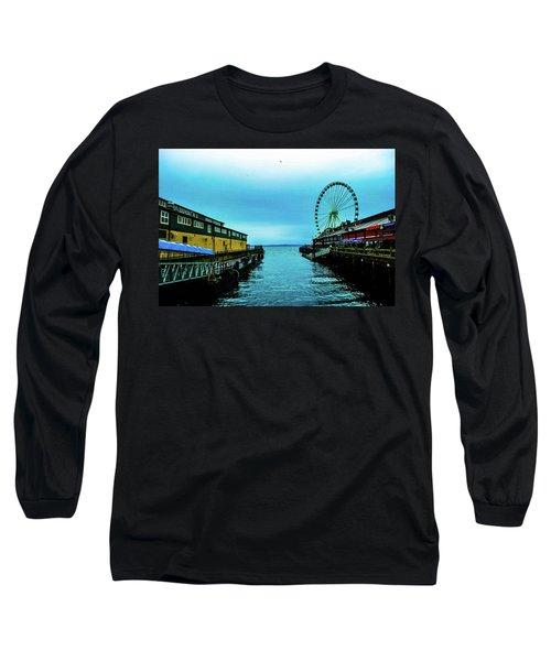 Sea Side, Seattle 2 Long Sleeve T-Shirt