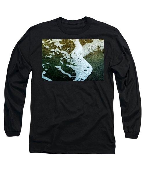 Seafoam Long Sleeve T-Shirt by Ellen Heaverlo