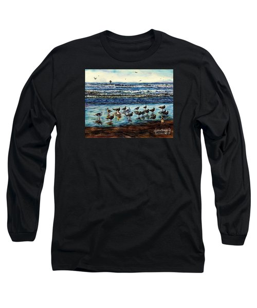 Seagull Get-together Long Sleeve T-Shirt
