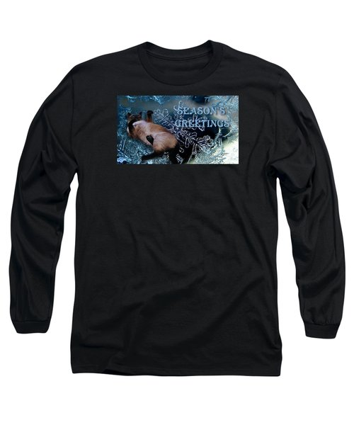 Seasons Greetings Long Sleeve T-Shirt