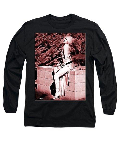 Seated Slave Girl Long Sleeve T-Shirt