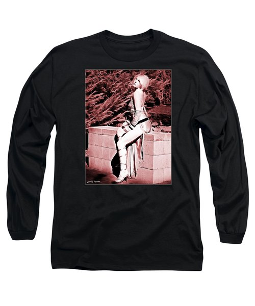 Seated Slave Girl Long Sleeve T-Shirt