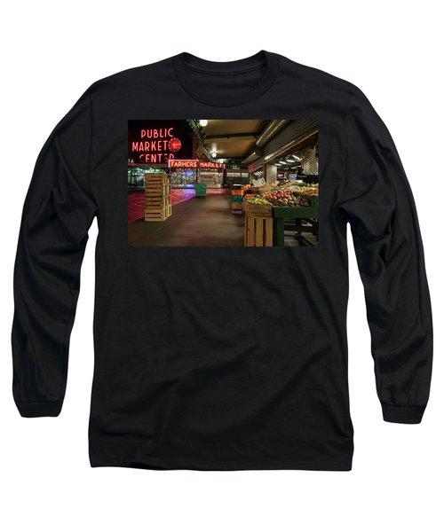 Seattle Public Market 2 Long Sleeve T-Shirt