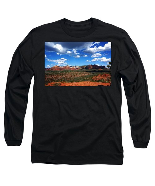 Long Sleeve T-Shirt featuring the photograph Sedona by Julia Ivanovna Willhite