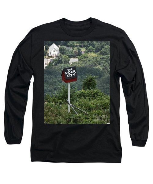 See Rock City Long Sleeve T-Shirt