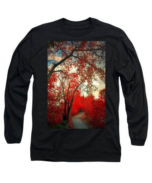 Long Sleeve T-Shirt featuring the photograph Seeing Red 2 by Tara Turner