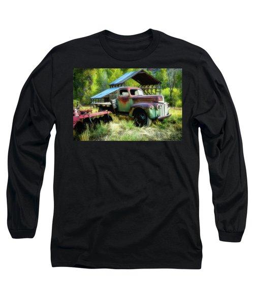 Seen Better Days - Ford Farm Truck Long Sleeve T-Shirt