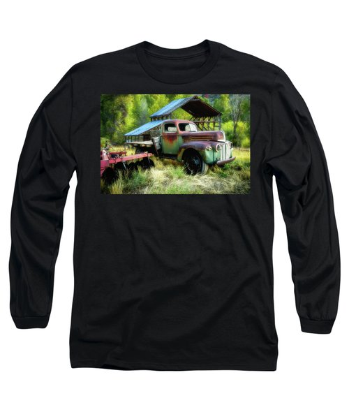Seen Better Days - Ford Farm Truck Long Sleeve T-Shirt