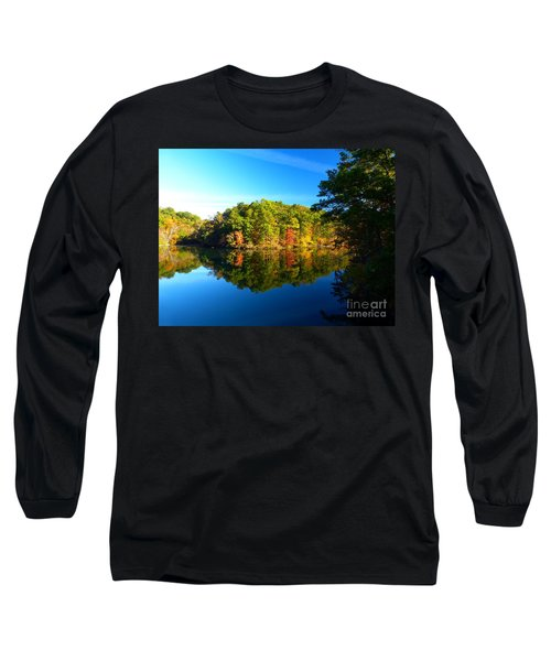 Seen From Kidds Schoolhouse Long Sleeve T-Shirt