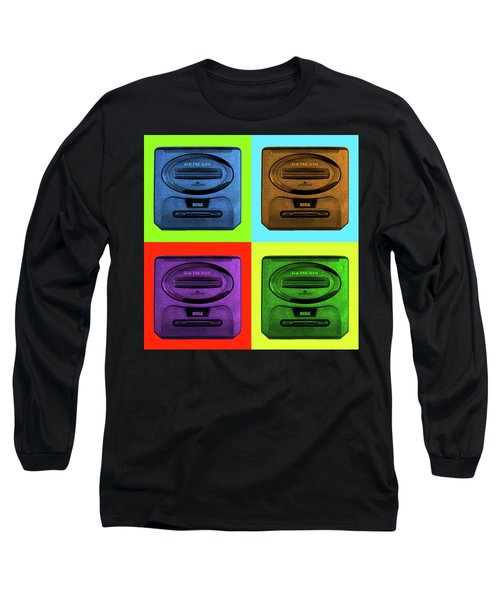 Sega Genesis Long Sleeve T-Shirt