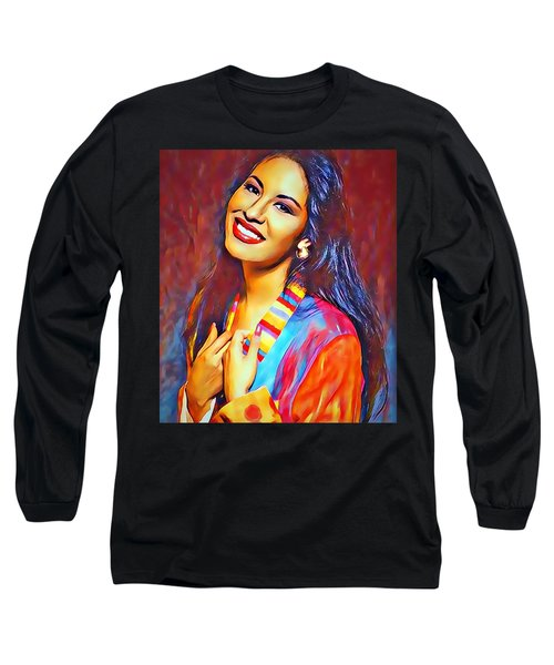 Selena Queen Of Tejano  Long Sleeve T-Shirt
