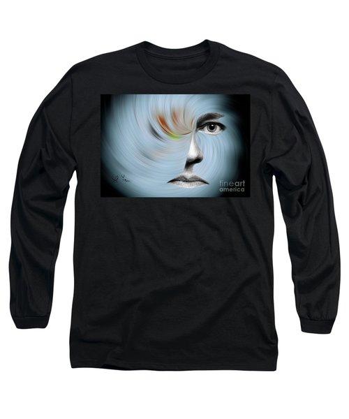 Selfie Long Sleeve T-Shirt by Leo Symon