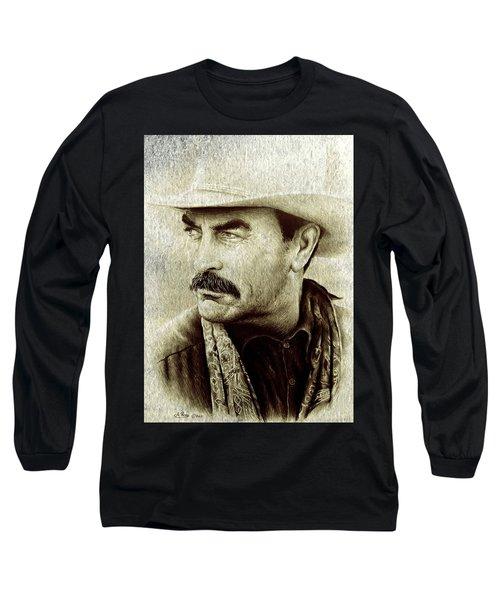 Selleck  Long Sleeve T-Shirt