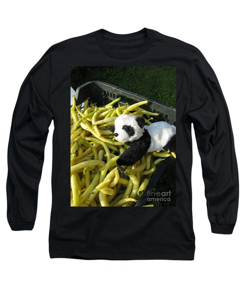 Long Sleeve T-Shirt featuring the photograph Selling Beans by Ausra Huntington nee Paulauskaite