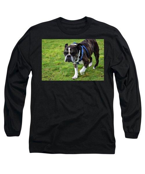 Leroy The Senior Bulldog Long Sleeve T-Shirt