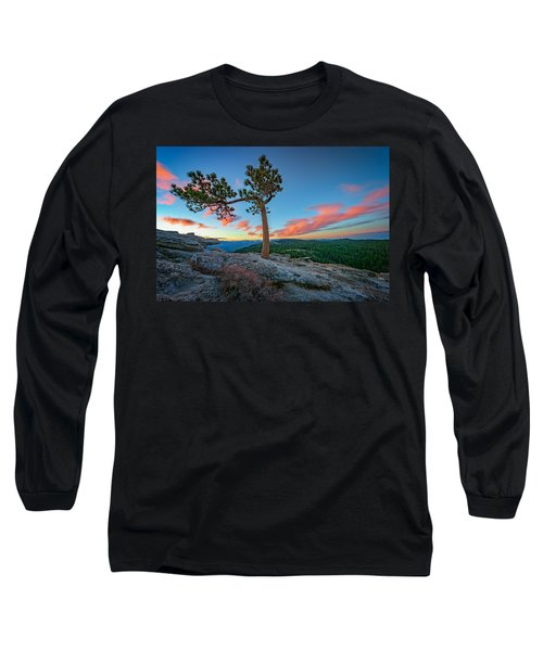 Sentinel Dawn Long Sleeve T-Shirt by Rick Berk