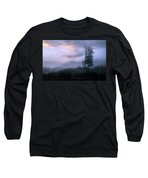 Sentinels In The Valley Long Sleeve T-Shirt by Dan Jurak