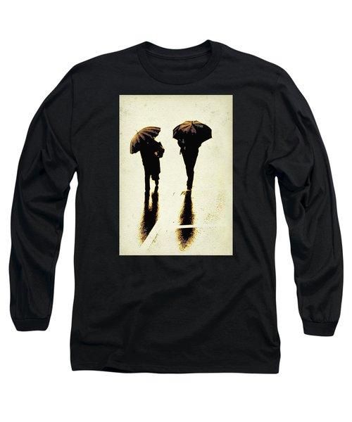 Sepia Rain Long Sleeve T-Shirt